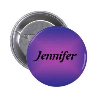 Namensschablonen-Knopf Runder Button 5,7 Cm