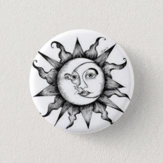 Namensschild 002 runder button 3,2 cm