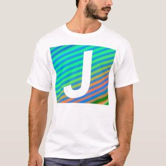 Namenst-stück des buchstabe-J T-Shirt