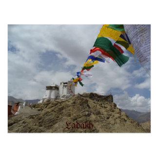 Namgyal Tsemo gompa, Leh, Ladakh, Indien Postkarte