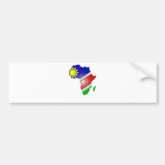 Namibia Autoaufkleber