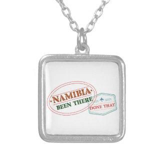 Namibia dort getan dem versilberte kette