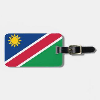 Namibia-Flagge Gepäckanhänger