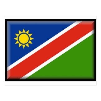Namibia-Flagge Postkarte