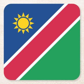 Namibia-Flagge Rechteckiger Pappuntersetzer