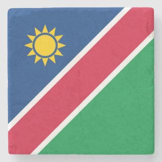 Namibia-Flagge Steinuntersetzer
