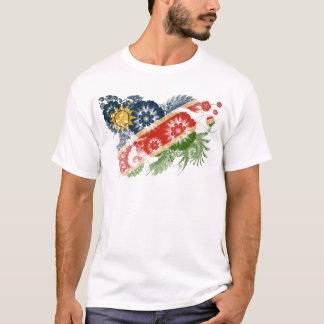 Namibia-Flagge T-Shirt