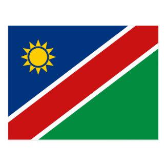 Namibia-Flaggen-Postkarte Postkarte