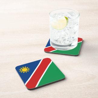 Namibia-Flaggen-Untersetzer Getränkeuntersetzer