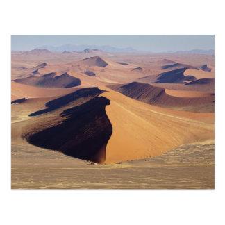 Namibia, Namib-Naukluft Park. Luftaufnahme von Postkarte