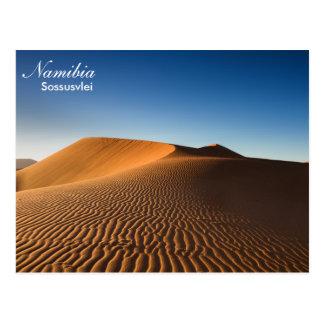 Namibia- - Sossusvlei Wüstenpostkarte Postkarte
