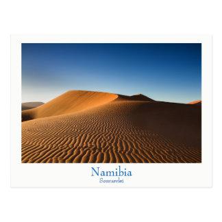 Namibia- - Sossusvleiwüstenpostkarte mit Text Postkarten