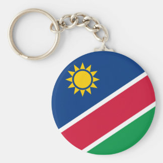 Namibia Standard Runder Schlüsselanhänger