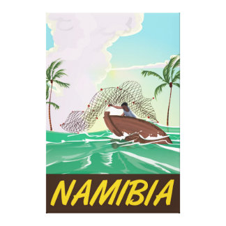 Namibia-Strandreiseplakat Leinwanddruck