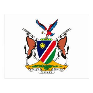 Namibia-Wappen Postkarte