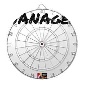 NANAGER - Wortspiele - Francois Ville Dartscheibe