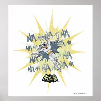 NANANANANANA Batman Grafik Poster