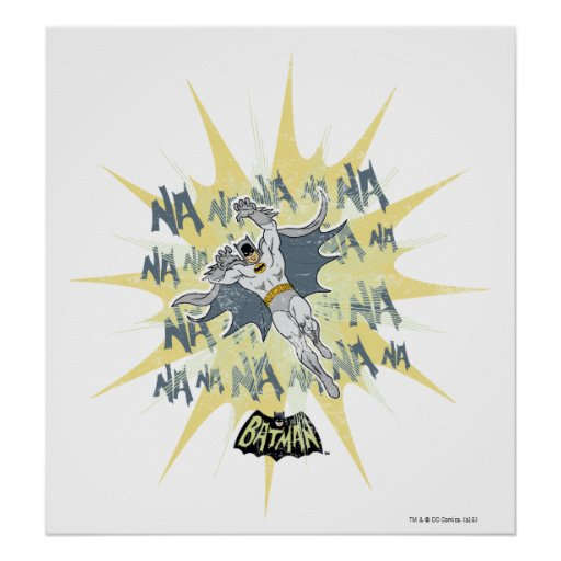 NANANANANANA Batman Grafik Posterdruck