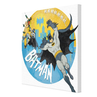 NANANANANANA Batman Ikone Gespannte Galerie Drucke