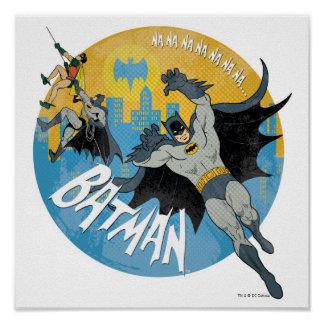 NANANANANANA Batman Ikone Poster