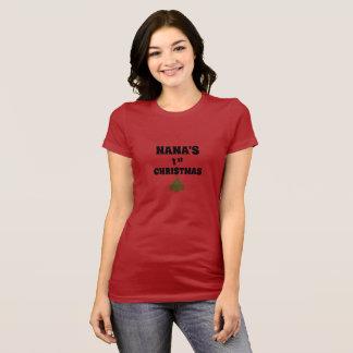 Nanas 1. WeihnachtsT - Shirt