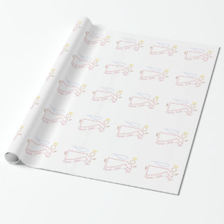 Nanas Engelchen Geschenkpapier
