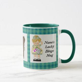 Nanas glückliche Bingo-Tasse Tasse