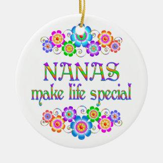 Nanas machen LebenSpecial Keramik Ornament