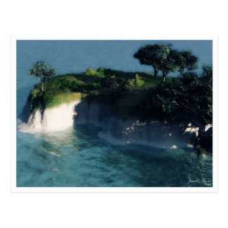 Nani Insel-Postkarte Postkarte