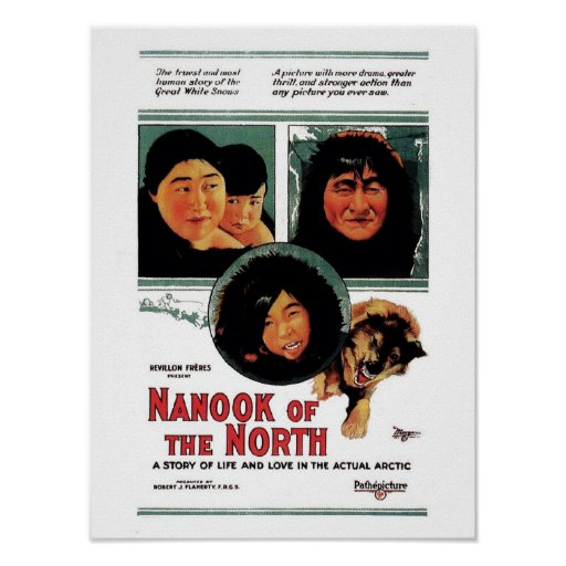 Nanook des Nordens Plakatdruck