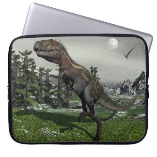 Nanotyrannus Dinosaurier - 3D übertragen Laptop Sleeve