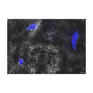 Nanowatt Leinwanddruck