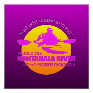 Nantahala Fluss (Sonnenuntergang) Poster