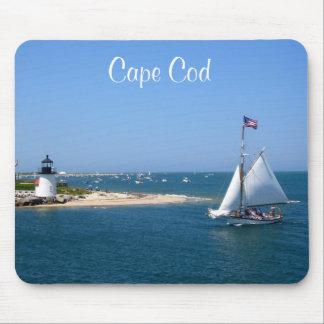 Nantucket Cape Cod Leuchtturm u. Hafen Mousepad
