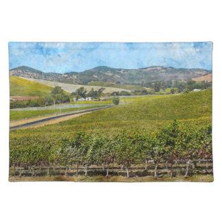 Napa Valley Kalifornien Tischset