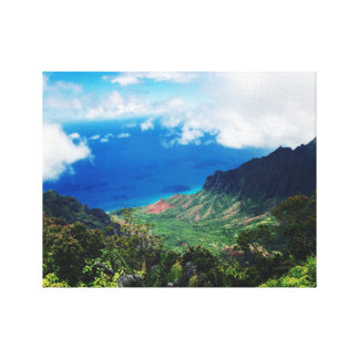 Napali Küsten-Park: Kauai, Hawaii Leinwanddruck