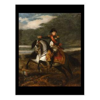 Napoleon bei Wagram Postkarte
