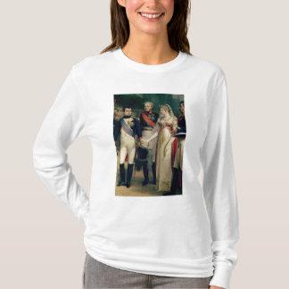 Napoleon Bonaparte, der Königin Louisa empfängt T-Shirt