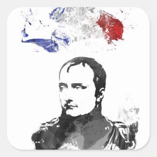 Napoleon Bonaparte Quadratischer Aufkleber