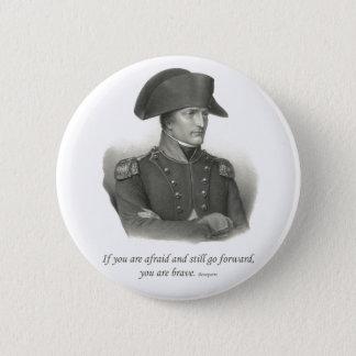 Napoleon Bonaparte Runder Button 5,1 Cm
