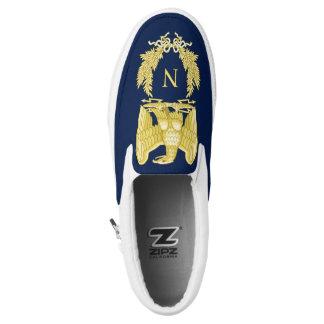 Napoleon- Bonaparteemblem Slip-On Sneaker