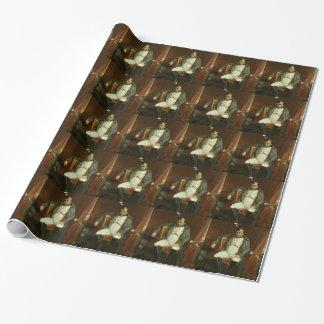 Napoleon denkt an Stachelschweine Geschenkpapier