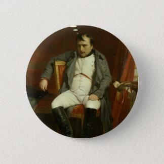 Napoleon denkt an Stachelschweine Runder Button 5,7 Cm