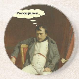 Napoleon denkt an Stachelschweine Untersetzer