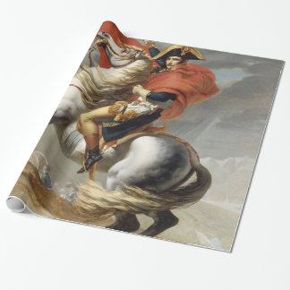 Napoleon, der die Alpen durch Jacques Louis David Geschenkpapier