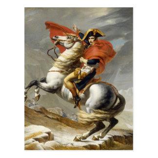 Napoleon, der die Alpen durch Jacques Louis David Postkarte