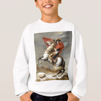 Napoleon, der die Alpen - Jacques-Louis David Sweatshirt
