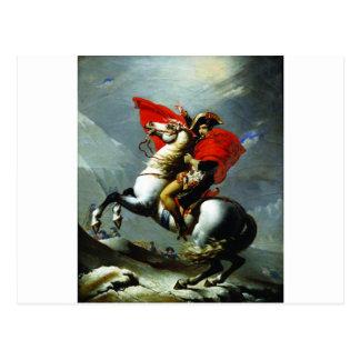 Napoleon, der die Alpen überquert Postkarte