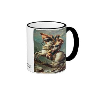 Napoleon, der die Alpen überquert Kaffeehaferl