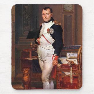 Napoleon, der in seiner Studie aufwirft Mousepad